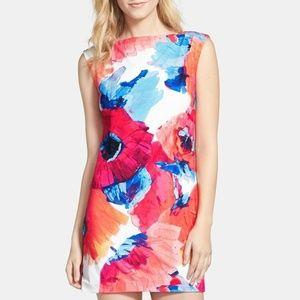 Trina Turk Felana Poppy Print Dress